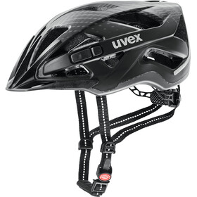 UVEX City Active - Casco de bicicleta - negro